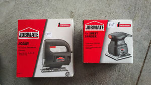 Jobmate Jigsaw and Sander - $30 each