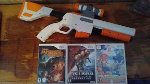 Wii games plus light gun
