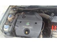 Skoda, VW, Seat, 1.9 tdi engine, gearbox, etc low mileage Read Full Discription £300