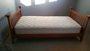 Twin bed frame - wood