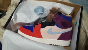 Aleali May Court Luxe Air Jordan 1's