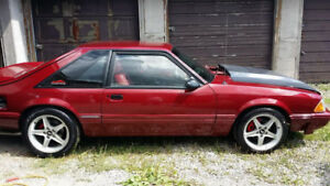 1989 mustang lx hatch 351 swapped