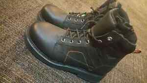 Men's Harley-Davidson steel-toed riding/safety boots