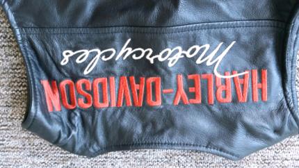 Harley Davidson Leather Vest Wannanup Mandurah Area Preview