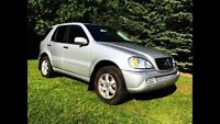 2002 MERCEDES BENZ ML500 SUV CROSSOVER