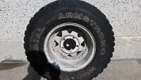 Armstrong 31X10.50 R15LT tire and rim