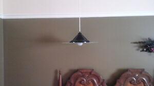 2 luminaires suspendus