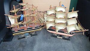 2 Vintage Ship Models $100 Each or Both $180. Prince George British Columbia image 1