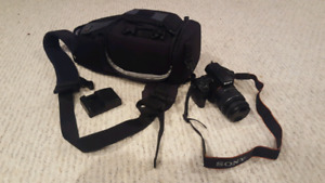 Sony A37 DSLR with Bag