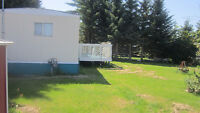 Mobile home lot for rent/Willingdon. AB