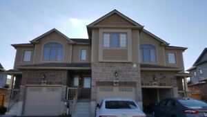 new 3bed 2.5bath townhouse Doon South for rent starting Jan 1.