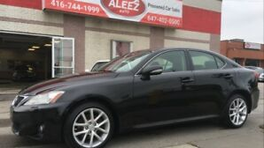 2013 Lexus IS 250 TOP OF THE LINE NAV, BACK UP CAMERA, PADDLE SHIFTE