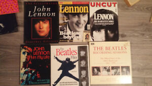 John Lennon books and collector magazines