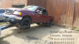 Scrap, Unwanted or Junk Cars Removal & Auto Wrecker for $$ Cash