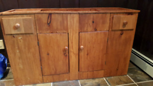 Pine Dry Sink for sale!
