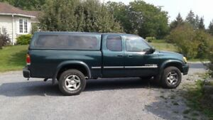 Toyota Tundra in good condition loaded