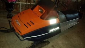 Vintage Collectable Mirage 1 Snowmobile