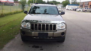 2006 Jeep Grand Cherokee 4X4 V6 SAFETY & E-TESTED London Ontario image 1