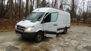 2007 Dodge Sprinter LONG BOX ROOF RACK AS-IS