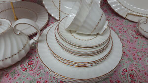 "ROYAL DOULTON  ""Adrian"" English fine bone china set"