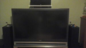 "Bravia 55"" Rear Projection TV"