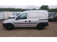 Vauxhall Combo 1.3CDTI Crew Van, Twin Side loading doors, 5 seats, VGC in & out