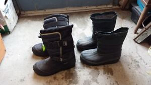 SNOWMOBILE BOOTS SIZE 6 & 7