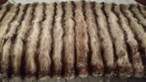 Real Fur throws - great Christmas gifts