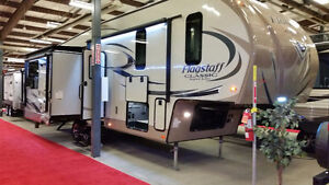 2017 Flagstaff by Forest River 8529IKBS