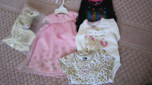NEW CAMILLA dress + NEW bodysuits + NEW toy 3-9months