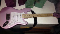 STAGE ONE PINK ELECTRIC GUITAR