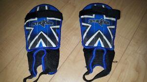 Striker brand Soccer Shin Pads (Small)