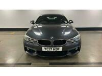 2017 BMW 4 Series 420d [190] M Sport 5dr Auto [Professional Media] Coupe diesel