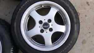 Set of 4 14inch sport edition wheels. 4x100 bolt pattern Edmonton Edmonton Area image 3