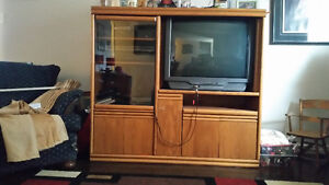 Free Entertainment Unit and Television