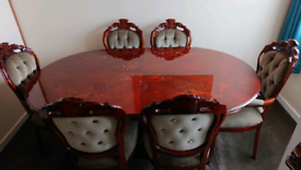 Receny table and chairs