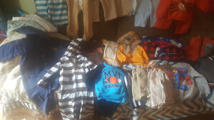 2 LARGE BOXES size 12 to 24 mos boys clothes st catharines
