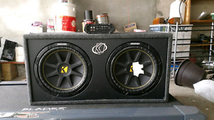 Selling a complete Kicker Sound System!