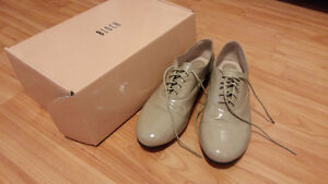 Bloch Foxtrot patent-leather brogues