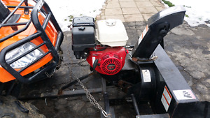 Snowblower for atv or lowntracter