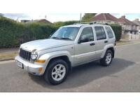 2005 Jeep Cherokee 2.8CRD ( 161bhp ) 4X4 Auto Limited