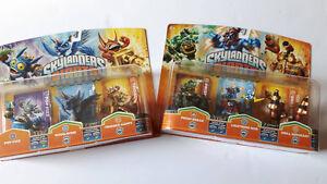 2X 3-Pack pour jeux jeu de Skylanders Giant Neufs