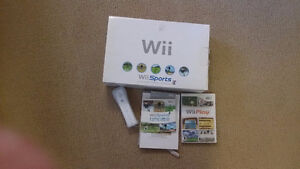 Wii almost new