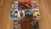 *****PS3 AND WII GAMES FOR SALE, ONE GAMECUBE GAME ONE N64 GAME*