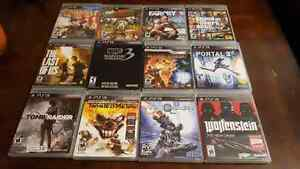 12 Ps3 games for sale.