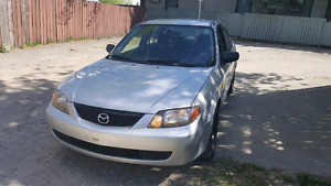 2003 Mazda protege! Active status, clean, Cheap needs to go asap