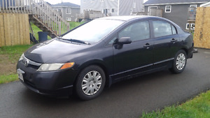 2006 Honda civic 4 door black LOWERED PRICE