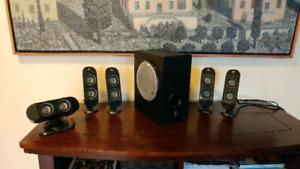 Logitech speaker system