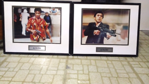 Scarface Framed Pictures