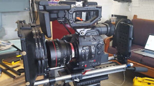 Canon C300 MK ii Pro Package with Low HRS